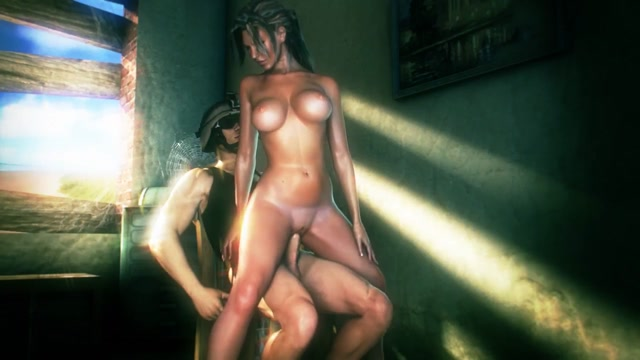 big tit girl sex in call of booty porn game