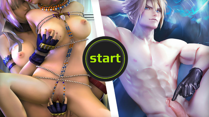 final fantasy porn games